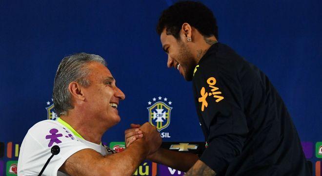 Para a CBF só a opinião de um jogador importa. E Neymar quer Tite