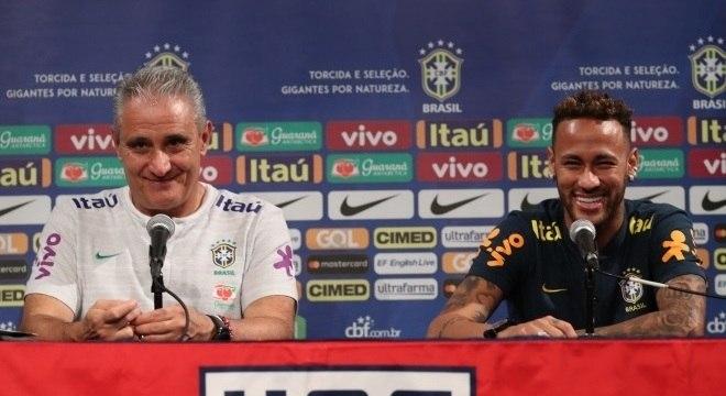 Tite e Edu Gaspar tiveram uma longa conversa com Neymar pós-Copa