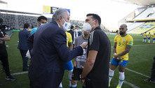 Atuação de embaixador evitou que argentinos saíssem presos da Arena