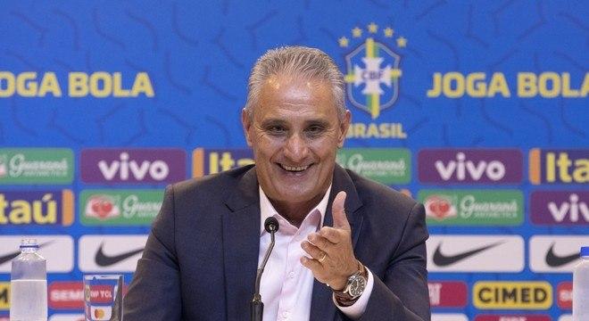 Tite convocou a seleção brasileira para dois jogos das Eliminatórias