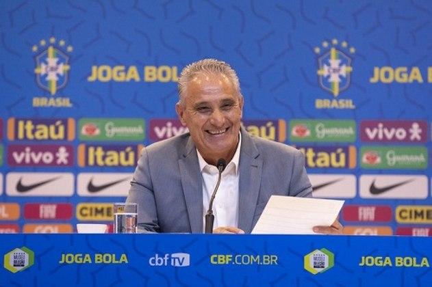 Tite - técnico - 59 anos - atualmente comanda a Seleção Brasileira.
