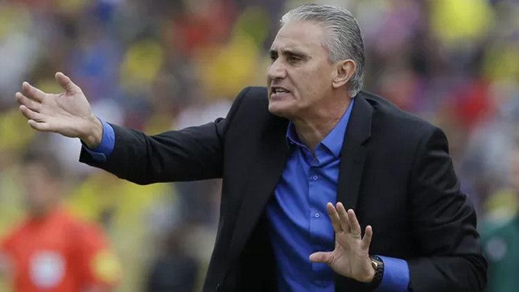 Tite - técnico - Hoje comanda a Seleção Brasileira.