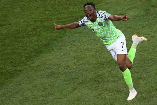 Titular da seleção da Nigéria nas Copas do Mundo de 2014 e 2018, Ahmed Musa está sem clube desde outubro de 2020, quando rescindiu com o CSKA, da Rússia.