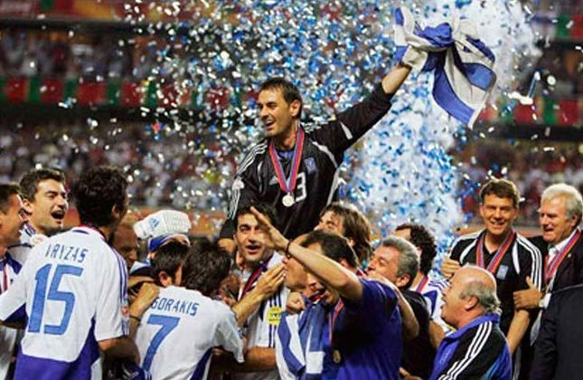 Título conquistado: Eurocopa de 2004 (foto)