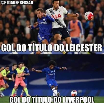 Título do Liverpool rende memes nas redes sociais