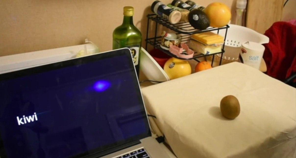 Na média, o dispositivo foi capaz de detectar objetos com 94,5% de precisão