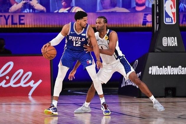 Tobias Harris (Philadelphia 76ers) foi um dos grandes nomes de sua equipe na noite de sábado. Mesmo com 30 pontos e oito rebotes dele, o Sixers não conseguiu superar o Indiana Pacers e viu o oponente abrir vantagem no confronto direto pelo quinto lugar da conferência Leste. Harris acertou somente 12 das 29 tentativas (41.4% de aproveitamento)