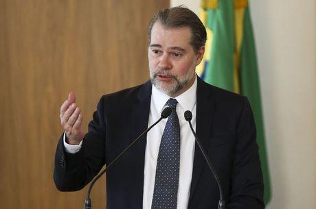 Toffoli não citou a decisão de Alexandre de Moraes