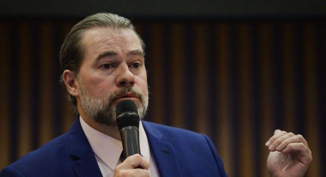 Toffoli defende que criar parâmetros para uso de redes não se trata de censura