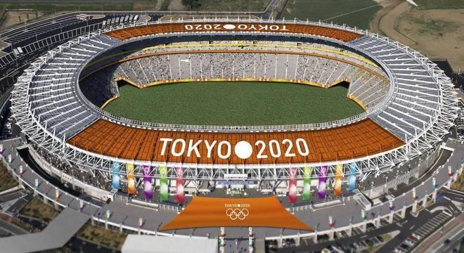 O Estádio Olímpico de Tóquio/2020