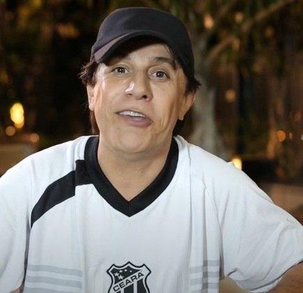 Tom Cavalcante - humorista - time do coração: Ceará