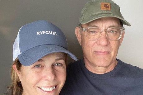 Curados, Rita Wilson e Tom Hanks oferecem ajuda a pesquisadores