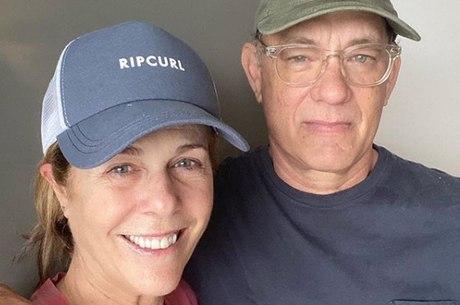 Tom Hanks e a esposa se recuperaram da covid