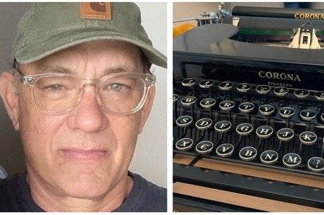 Ator mandou máquina de escrever da marca Corona