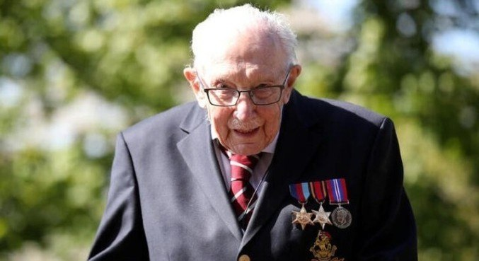 Capitão morreu aos 100 anos na última semana