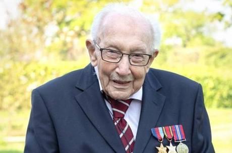 O veterano de guerra completou 100 anos de idade