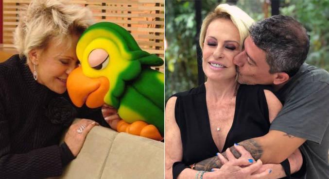 Tom Veiga e Ana Maria Braga foram parceiros por 23 anos