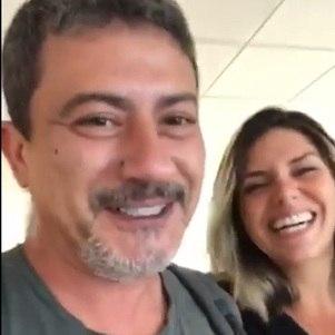 Cybelle postou vídeo divertido com Tom
