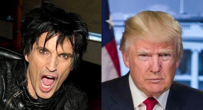 Tommy Lee e Donald Trump