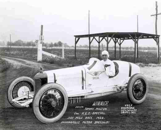 Tommy Milton foi o primeiro bicampeão de Indianápolis. 1921 e 1923
