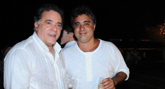 Tony Ramos e filho Rodrigo