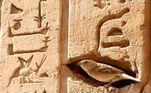 Egípcios já dominavam a técnica de escrita por meio de gifs