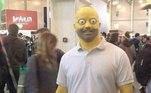 É chegado o grande momento: pessoas fantasiadas como personagens deOs Simpsons!