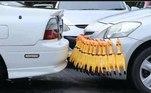 Sensor de estacionamento com apito