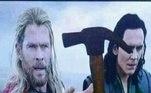 — Segura aqui, Thor, por favor