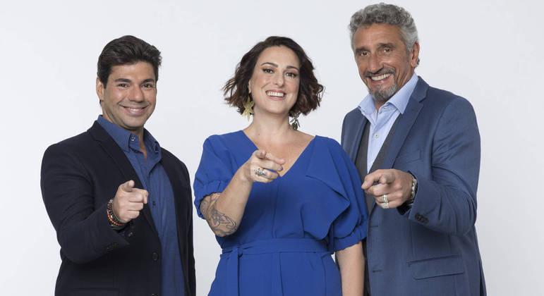 """Felipe Bronze, Ailin Aleixo e Emmanuel Bassoleil estão prontos para nova temporada do """"Top Chef Brasil"""""""