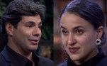 Já Lara foi homenageada por Felipe Bronze, que se emocionou e não conseguiu segurar as lágrimas.