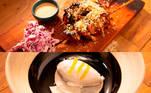 Luciana e KakáA dupla foi a primeira a ser avaliada pelos jurados no Desafio de Eliminação, que exigiu dois pratos dos participantes, um quente e outro frio. Luciana e Kaká fizeram um torikatsu (frango empanado) com salada de repolho roxo e maionese japonesa e apostaram em um sorvete de coco com missô e yusu acompanhado de pêra-japonesa e compota de laranja kinkan