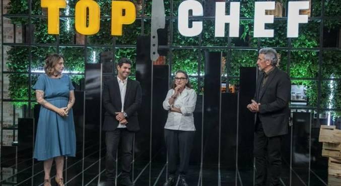 Ailin Aleixo, Felipe Bronze, Mara Salles e Emmanuel Bassoleil avaliam as receitas do 'Top Chef Brasil 3' nesta sexta (15)