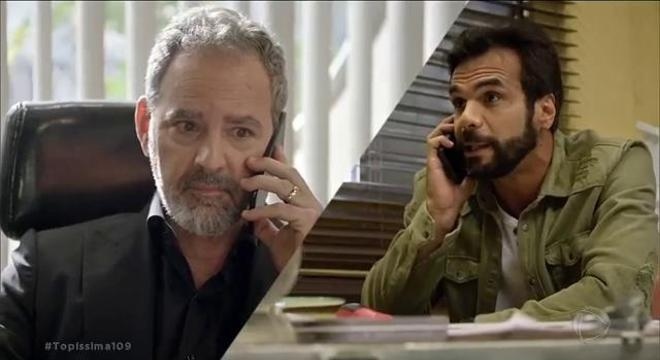 Pedro comunica Paulo Roberto sobre plano para matar Minha Flor