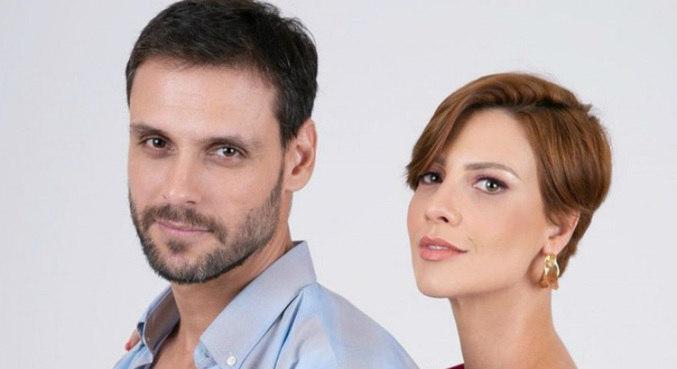 Felipe Cunha e Camila Rodrigues deram vida ao casal Antonio e Sophia