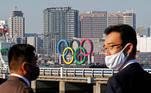 Tóquio 2020, anéis olímpicos, aros olímpicos,