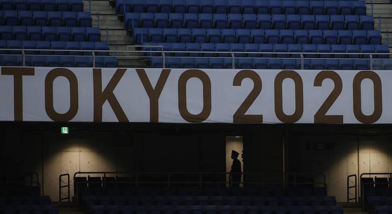 Estádio Olímpico da capital japonesa não contará com a presença do público na abertura
