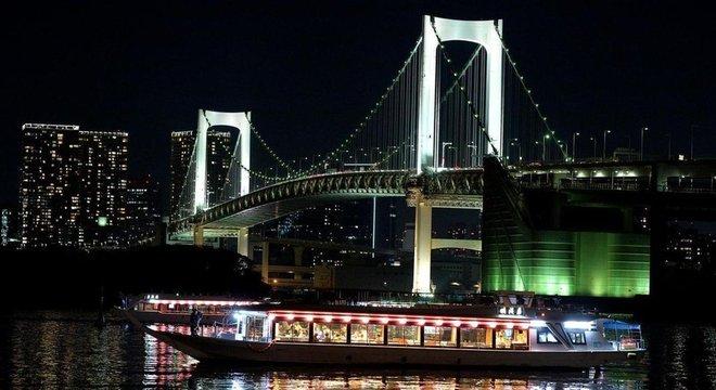 Os rios de Tóquio podem representar uma grave ameaça em temporada de chuvas fortes