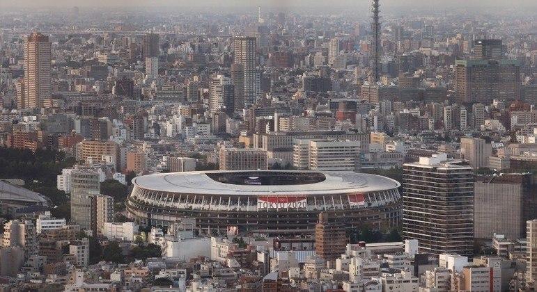 Japão apostou na combinação de estruturas novas, antigas e temporárias