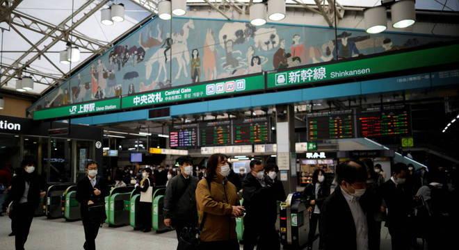 Tóquio manteve restrição de viagem por mais tempo dentro do Japão