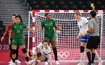 Brasil e Rússia se enfrentam na primeira rodada do handebol feminino