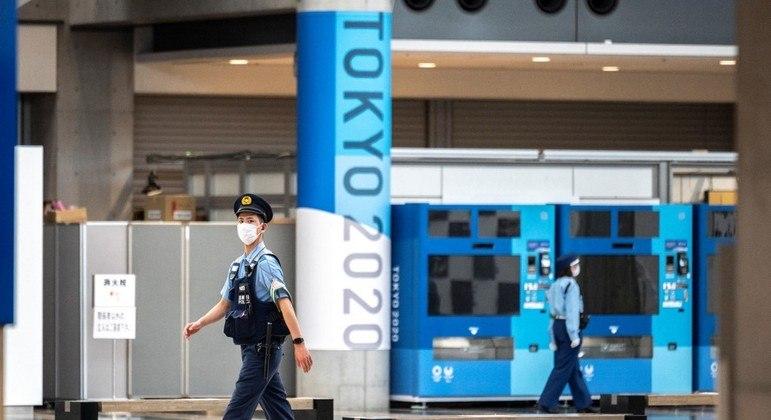 Centro de Imprensa dos Jogos Olímpicos de Tóquio