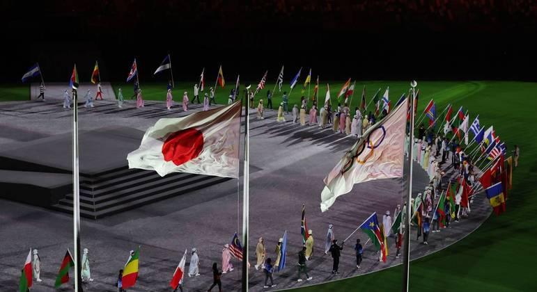 Adeus a Tóquio: jogos foram realizados sem onda de infecções por coronavírus