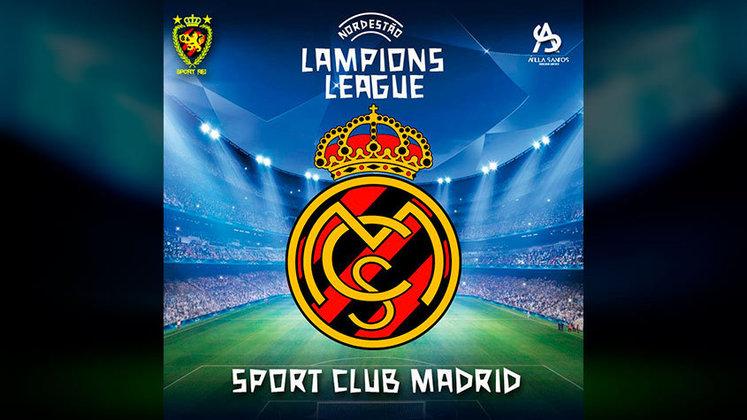 Torcedor do Sport, Atilla fez a fusão do clube de coração com o maior campeão da Champions League: o Real Madrid