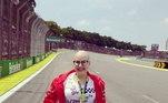 No GP do Brasil de 2019, Ana teve uma semana dos sonhos ao ter acesso ao paddock da Fórmula 1. Teve foto na pista