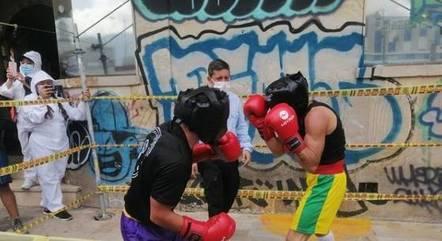 Lutadores são torcedores de organizadas