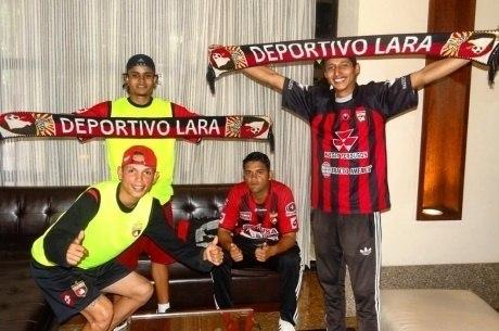 4 torcedores que acompanharam o Deportivo Lara