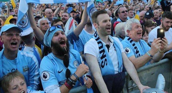 Camisa do Manchester City é uma das mais caras entre as equipes da Premier League, primeira divisão do futebol inglês