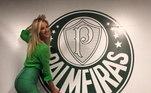 Giani Albertoni (modelo) - Palmeiras