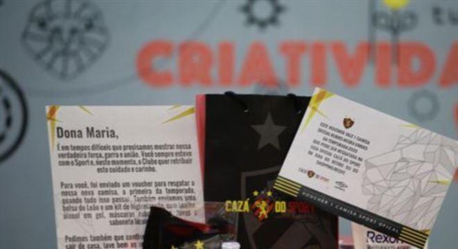 Torcedores rubro-negros receberão objetos oficiais do clube, entre eles, alguns de proteção ao combate à Covid-19